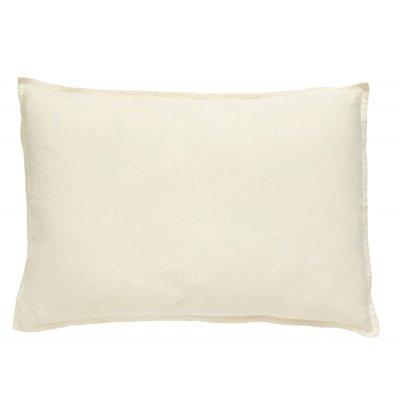 Nordal VELA cushion cover linen, off white
