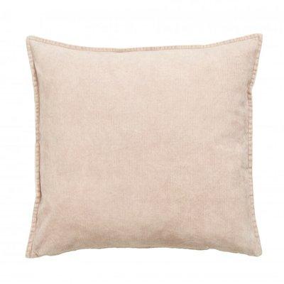 Nordal Cushion cover, light pink, corduroy 48 x 48 cm