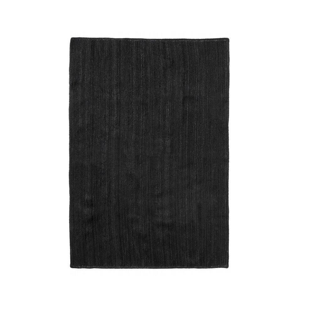 Nordal JUTE vloerkleed black 160 x 240 cm