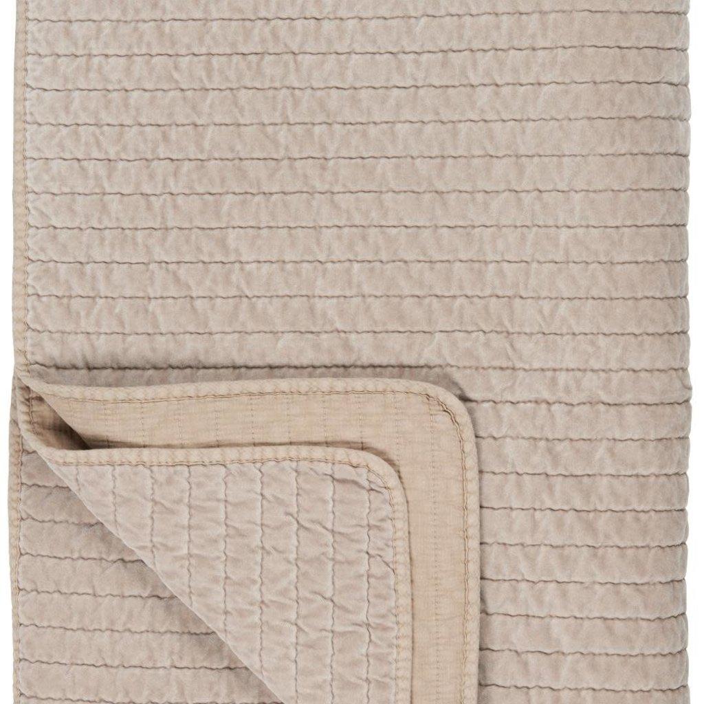 Maurits Plaid Fora zand 130 x 180