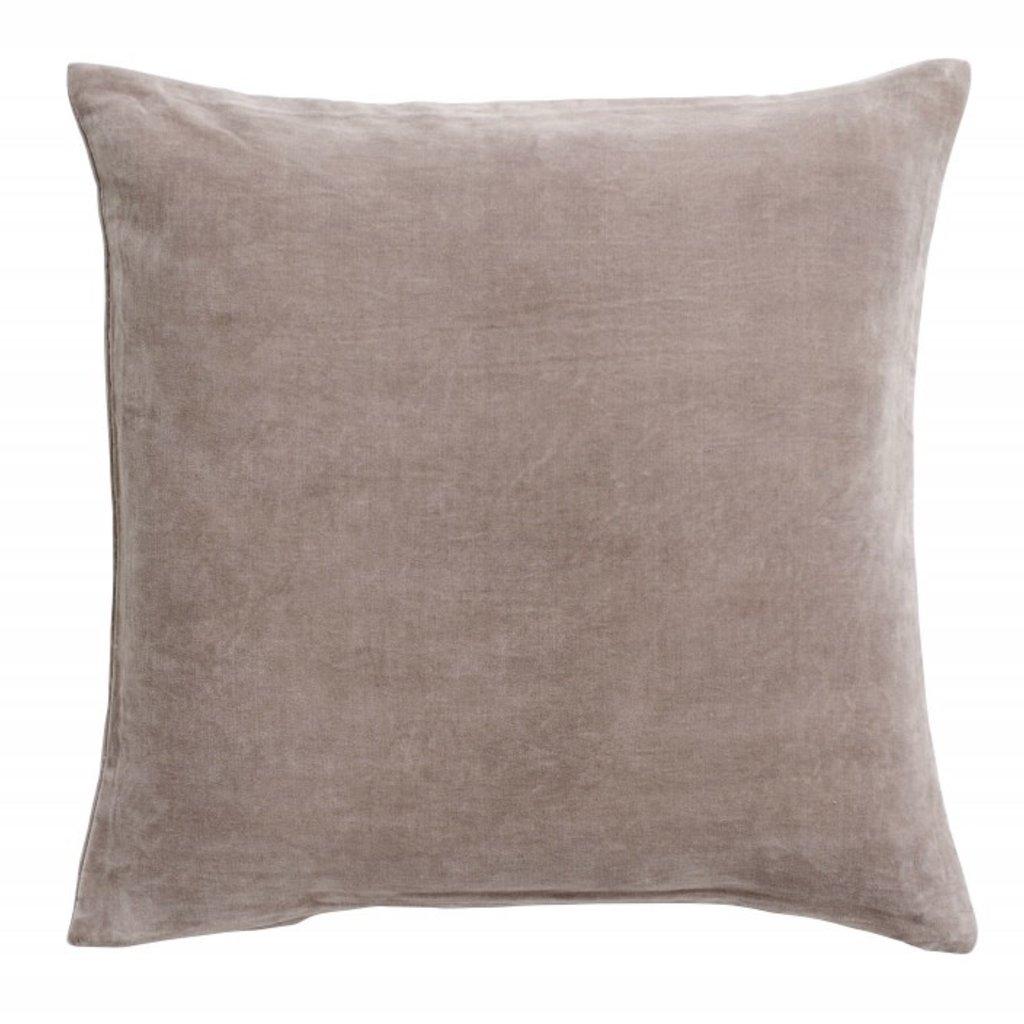 Nordal Sierkussen Hamno velvet grijs 50 x 50