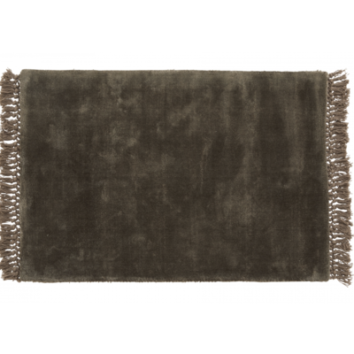 Nordal Vloerkleed Hyltan grijs 60 x 90