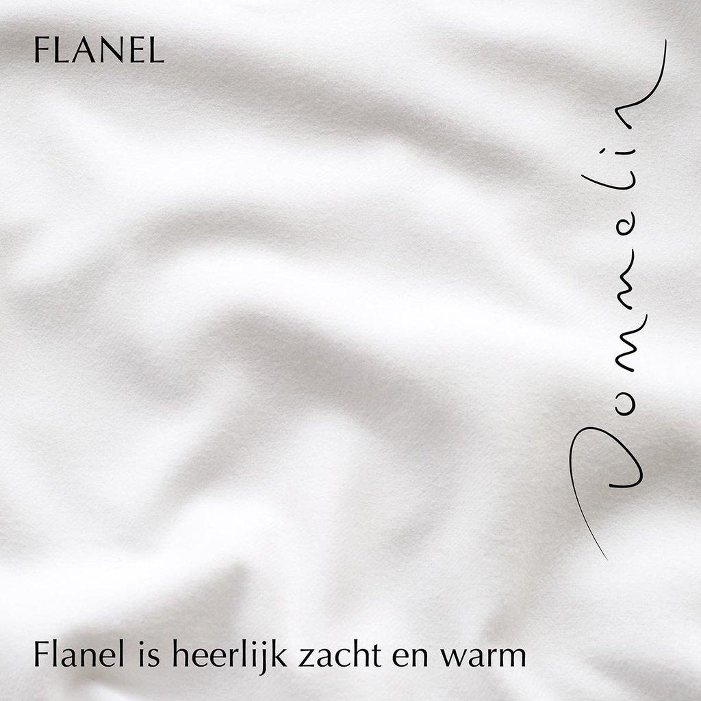 Dommelin Hoeslaken Flanel