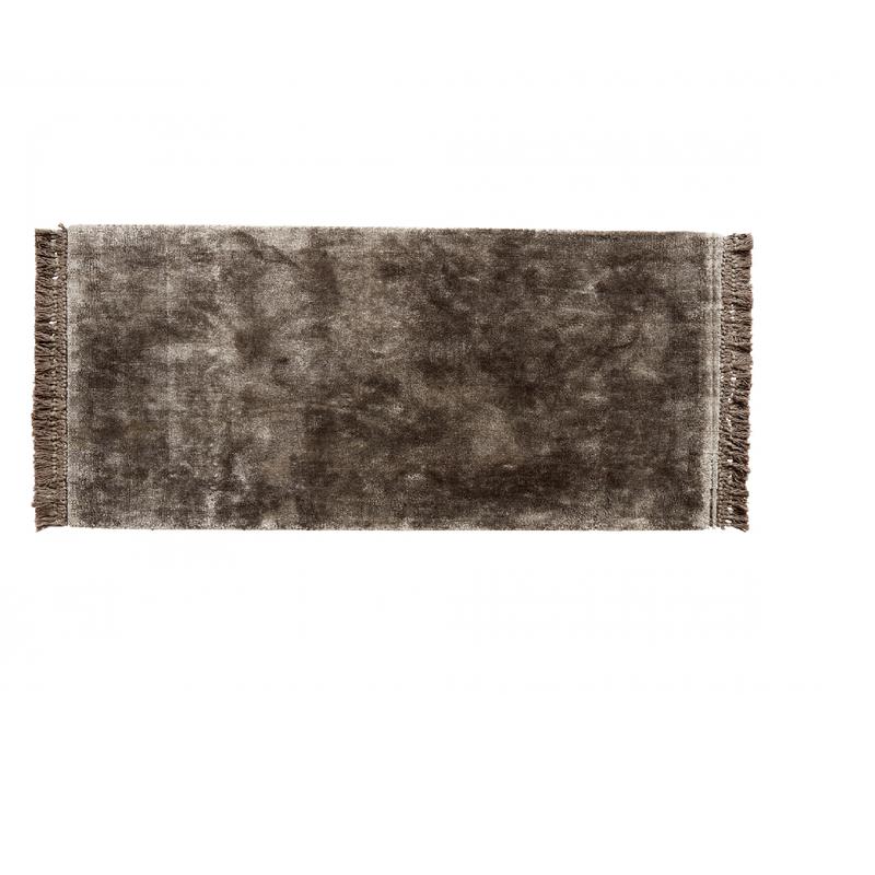 Nordal Vloerkleed Hyltan grijs 75 x 200