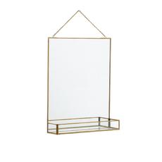 Nordal Spiegel Rogle 35 x 50 goud
