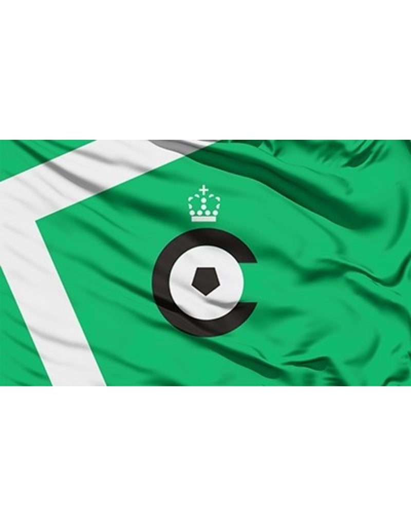 Vlag groen witte lijnen
