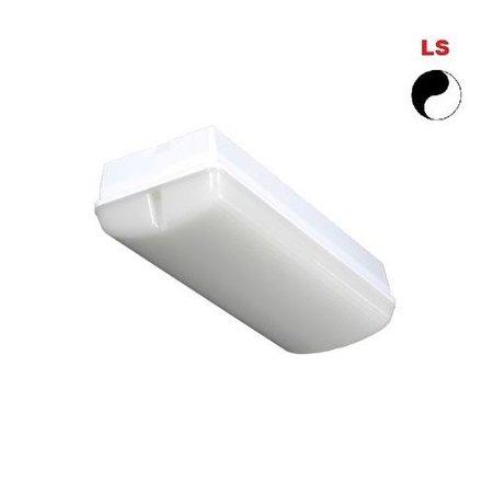 4MLUX Titan LED PLS 5W, 3000K, 365 lumen, met lichtsensor, lichtgrijs/opaal