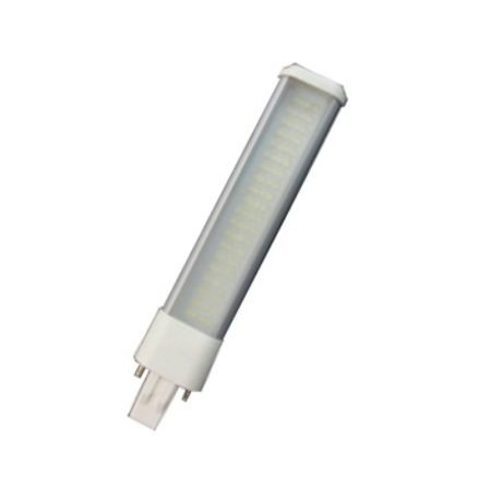 4MLUX  LED PLS G23 6W, 3000K , 590 lumen, 120°, lengte 180mm, 2 pens