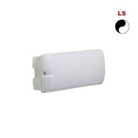 4MLUX Rhea LED Base-line 4W, 395 lumen, met lichtsensor, 2700K, wit/opaal