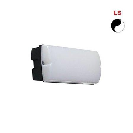 4MLUX Rhea LED Base-line 4W, 395 lumen, met lichtsensor, 4000K, zwart/opaal