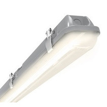 Tornado LED 2x1500mm, 58W, met bewegingssensor 4000K, 6353 lumen met RVS clipsen