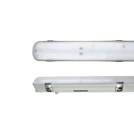 EM-Kosnic Avon LED 1x1200mm, 20W, 2400 lumen, 4000K, met RVS clipsen