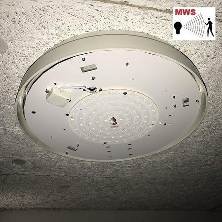 4MLUX LM305 LED PLQ module met LED PLQ 9/12/18W Multi-wattage en 3000/4000/5000K Multi-kleur instelbare LED lichtbron met bewegingssensor on/off of on/DIM(corridor-functie)