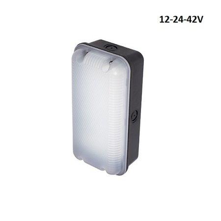 4MLUX Sleek 5W-12-42V AC/DC LED verlichting, 4000K zwart/opaal