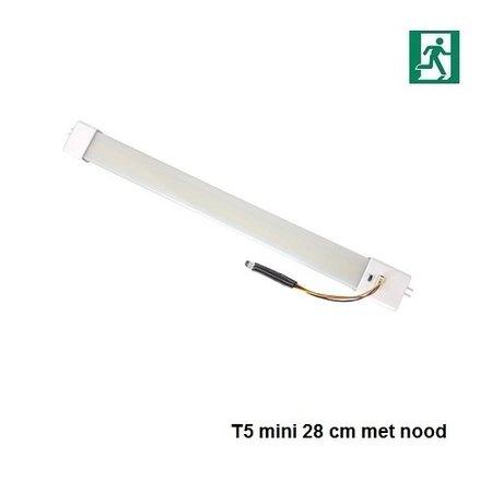 4MLUX  LED T5-mini buis 30 cm, 4W, 4000K nood