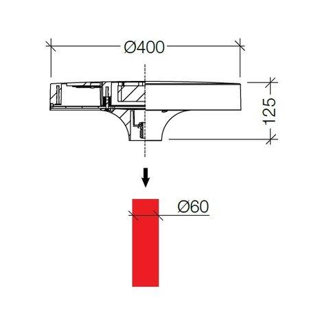 4MLUX Arturo LED Base-line 20W, 1340 lumen in 3000 of 4000K