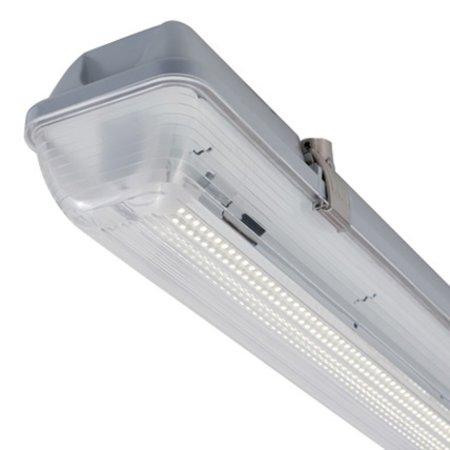 4MLUX Cletus IP65 12W, 24-42VAC/DC LED verlichting, 4000K met heldere lichtkap