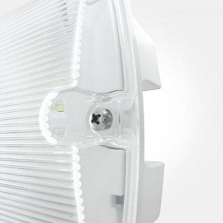 4MLUX Thex 7W, nood/continu of schakelbaar of alleen nood, 254/154 lumen, met IP65 testdrukker,  IP65, lichtgrijs/helder (zonder of met pictoset leverbaar)