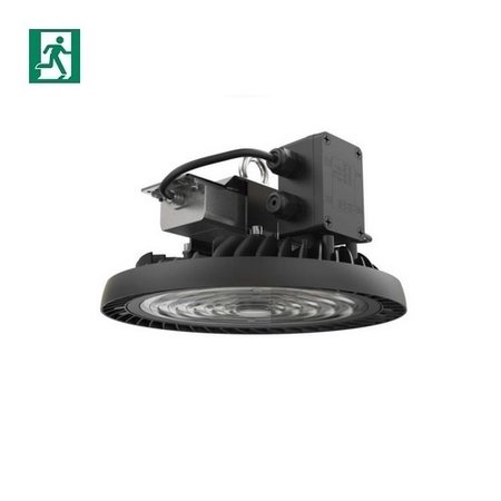 EM-Kosnic Nimbus LED High Bay, 200W, 28000 lumen, 5000K, 1-10V dimbaar, met nood (1300 lumen), 90 gr. Bundel