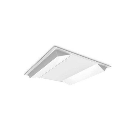 EM-Kosnic Twin Bar LG7 LED inlegarmatuur 30/40W Duo wattage, 3200/4200 lumen, 4000K, 595 x 595