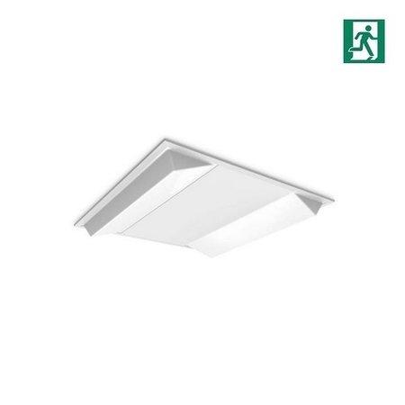 EM-Kosnic Twin Bar LG7 LED inlegarmatuur 30/40W Duo wattage, 3200/4200 lumen, 4000K, met nood, 595 x 595