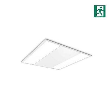 EM-Kosnic Twin Bar LED inlegarmatuur 30/40W Duo wattage, 3200/4200 lumen, 4000K, met nood, 595 x 595