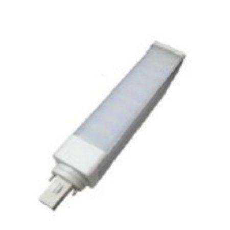 4MLUX LED  PLC G24d 7W, 3000K, 750 lumen, 135°, lengte 144mm, 2 pens