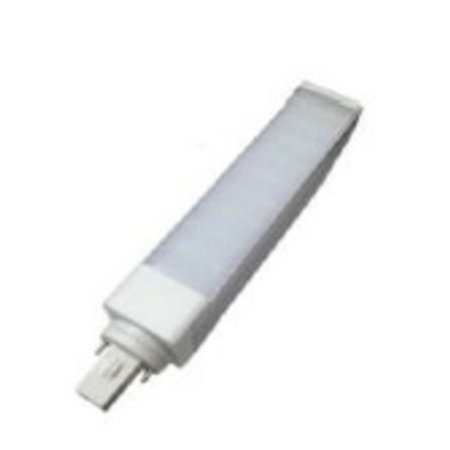 4MLUX LED  PLC G24d 9W, 4000K, 900 lumen, 135°, lengte 158mm, 2 pens