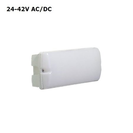 4MLUX Rhea LED Base-line 4W, 24V of 42V AC/DC, 390 lumen, 4000K, wit/opaal