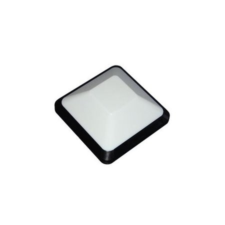4MLUX Vito 3,3W, 415 lumen, 3000K, zwart/opaal
