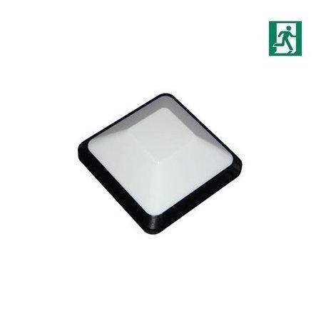 4MLUX Vito 3,3W, 415 lumen, 3000K, met nood, zwart/opaal