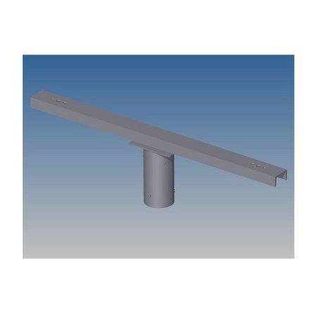 4MLUX Opzetstuk, voor mast 60/76mm, t.b.v. 2 schijnwerper