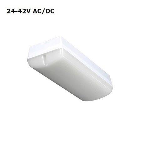 4MLUX Titan LED Base-line 8W, 24V/42V AC/DC, 820 lumen, 3000K, lichtgrijs/opaal