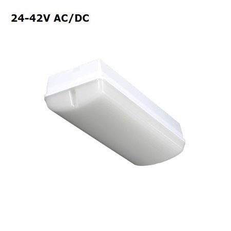 4MLUX Titan LED Base-line 8W, 24V/42V AC/DC, 820 lumen, 4000K, lichtgrijs/opaal