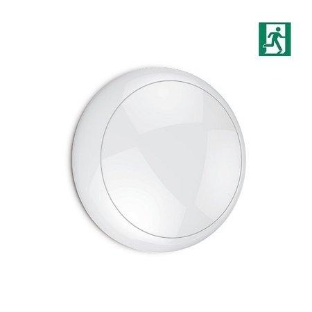4MLUX Blanca LED Base-line 8W, 790 lumen met nood (170 lumen, 2W) in 2700, 3000 of 4000K, keuze maken bij bestelling