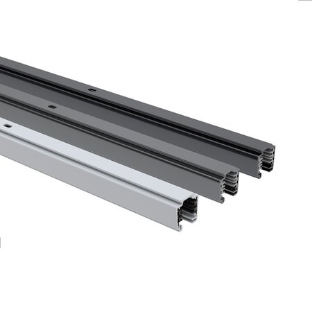 4MLUX 3 fase universele spanningsrail-track 3m in wit, grijs of zwart