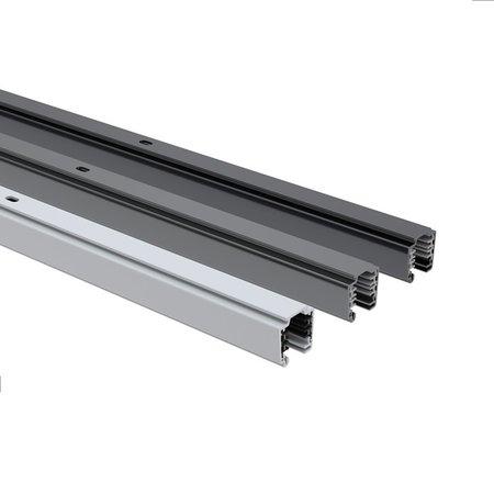 4MLUX 3 fase universele spanningsrail-track 4m in wit, grijs of zwart