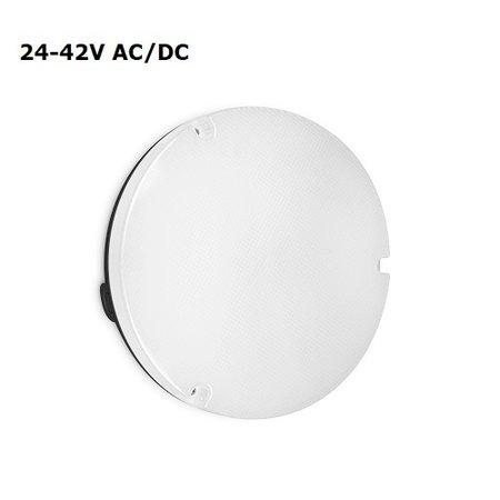 4MLUX Viso LED Base-line 4W, 24V/42V AC/DC, 472 lumen, 4000K, zwart/opaal