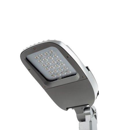 EM-Gemma Farlington 25W, 2427/2872 lumen in 3000 of 4000K met grijze of zwart behuizing met opschuifmaat 34, 60 of 76mm (standaard ook met Nema Socket lichtsensor verkrijgbaar)