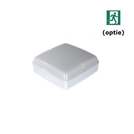 4MLUX Piazza LED PLS 10W, 4000K, 830 lumen, wit/opaal (optie: noodverlichting)