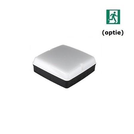 4MLUX Piazza LED PLS 5W, 4000K, 415 lumen, zwart/opaal (optie: noodverlichting)
