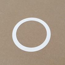 Downlighter gat verloop/afdekring/renovatie ring, binnen diameter vanaf Ø 70mm t/m buiten diameter Ø  220mm, prijs op aanvraag/calculatie