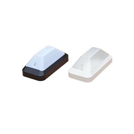 4MLUX KTP LED PLS portiek/galerijverlichting serie geschikt voor o.a. G23 Osram Dulux S LED en Philips LED CorePro LED PLS lichtbronnen met wit of zwart poly-carbonaat onderhuis en opalen of heldere-frosted poly-carbonaat lichtkap
