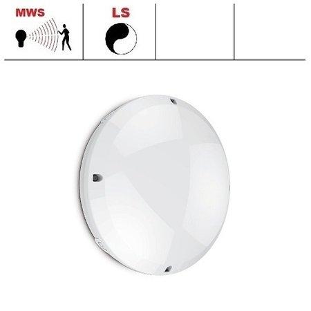 EM-Kosnic Blanca-I Pro LED, 12W, 4000K, 1260 lumen, met bewegingssensor(on/off of on/dim (corridor))/lichtsensor