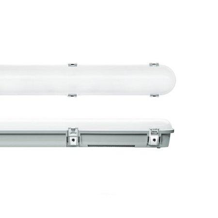 EM-Kosnic Trent Pro LED 1200mm, 20/25/30/35W, 2400-4550 lumen, 3000-6000K CCT met instelbaar wattage en LED kleur, met RVS clipsen