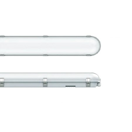 EM-Kosnic Congo Pro LED 1x1200mm, 24W, 2650-2900 lumen, 3000-6000K CCT met instelbare LED kleur, met RVS clipsen