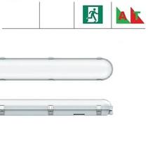 Congo Pro LED 1x1200mm, 24W, met nood (Autotest), 2650-2900 lumen, 3000-6000K CCT met instelbare LED kleur, met RVS clipsen