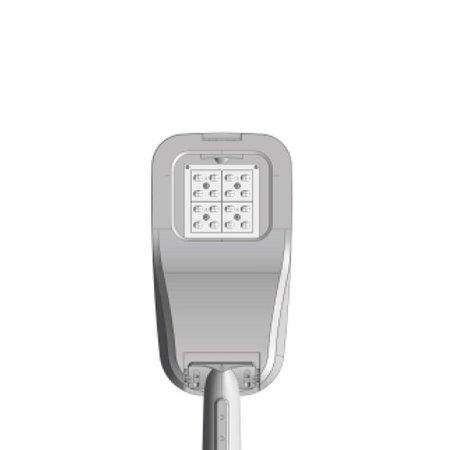 4MLUX Delia-XS LED 18W, 2200 lumen in 3000 of 4000K, licht-grijs of grafiet zwart