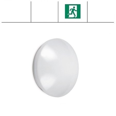 EM-Kosnic Pico-I LED,  Ø 330mm, 12W, met nood, 4000K, 880 lumen