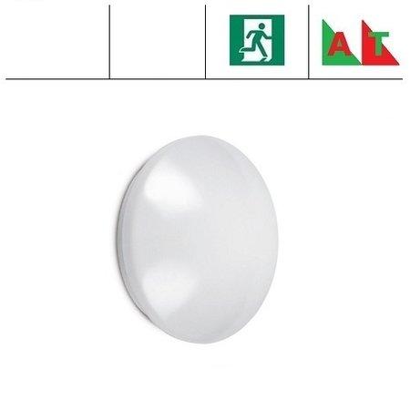 EM-Kosnic Pico-I LED,  Ø 330mm, 12W, met nood (Autotest), 4000K, 880 lumen